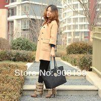 T*B Fashion formal women's   cowhide handbag shoulder bag  totes freeshipping