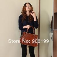 PG Cowhide fashion normic  shaping women's handbag shoulder bag