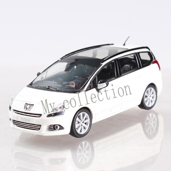 1:43 peugeot 5008 metal car model(China (Mainland))