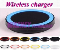 200pcs/lot*Portable Ultra Slim Qi Receiver Adapter Wireless Charger Pad for Lumia 920 Nexus 4 5 Samsung Galaxy S5 s4 N7100