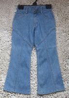 Child jeans children's clothing denim long trousers blue