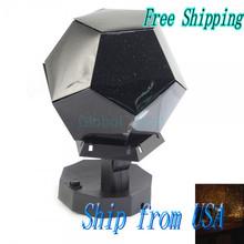 Ship From USA  Astro Star Laser Projector Cosmos Light Lamp JA018 (China (Mainland))
