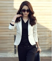 autumn women's fashion single button slim coats Jackets free shipping Hot sale
