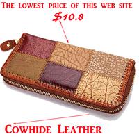 2014 New arrival Cowhide leather women wallets woman messenger bag women's design wallet change purse for women Free shipping