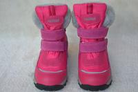 Child warm and waterproof reima lassie slip-resistant female child snow boots