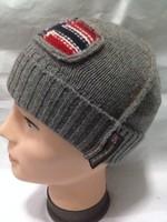 Napapijri pure wool yarn outdoor warm hat