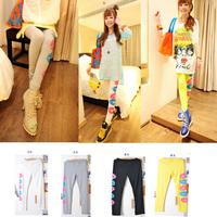 Pants doodle milk, silk legging female thin Size fits all fashion