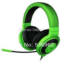 Original Razer Kraken Pro 3.5mm jack Gaming Headset for PC Game Concertina Microphone Dota 2 Consumer Electronics  Free shipping