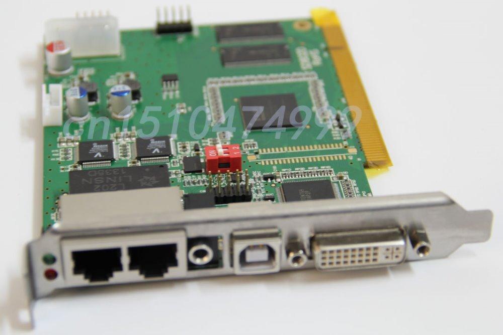 LINSN TS802 Sending card,Full color LED display control system,P3 P4 P5 P6 P7.62 P10 P16 LED Display Sending CARDS(China (Mainland))