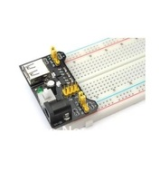 Special promotions 1lot= MB102 Breadboard Power Supply Module 3.3V/5V + 830 Tie Point Breadboard Excellent MB-102 kit 30292