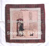 London Olympic souvenirs jacquard cushion cover telephone 2014 new design free shipping ! CC004