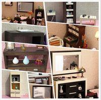 MINI CLUB-FREE SHIPPING- Doll house mini furniture model ebony series furniture