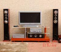 MINI CLUB-FREE SHIPPING- Beans doll house model mini furniture modern audio set 20007