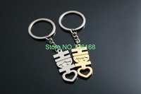 Free shipping creativos relago popular word keyring jewelry hot sale happiness souvenirs wholesale creative metal keychain 2014