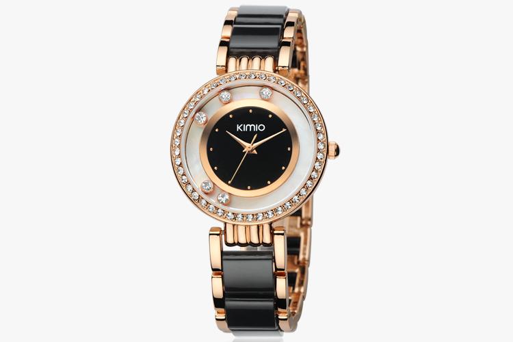 Fashion ladies bracelet watch women's rhinestone watch()