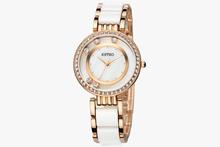 Fashion ladies bracelet watch women s rhinestone watch