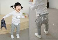 Retail 1 pcs/lot, 100% cotton ,children girl and boy clothing pants ,Harem pants,0.23kg