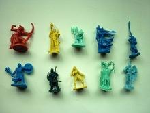 Planet Anime (Mini figures) 3.5cm 10 Style 200pcs/lot Free Shipping(China (Mainland))