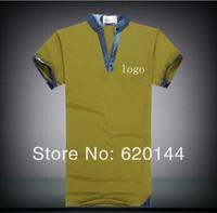Free shipping 2014 new style Men's Fashion casual Shirts Short Sleeve high quality Summer Slim Shirts brand shirt