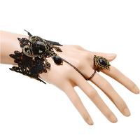 2pcs Fashion crystal bracelet palace complex Gulei Si Ting Gete womem Korean jewelry set BR9250 2015 new