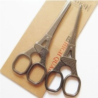 Stainless Steel Craft Scissors Retro Eiffel Style