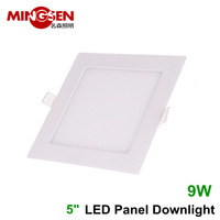 Square hot panel style led ceiling light 9W