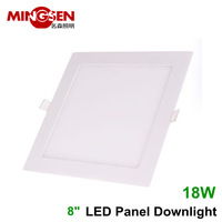 Hot square white panel led lighting 18W