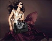New 2014 HOLLYWOOD Hot Sale Fashion Super Star Handbag Women Shoulder handbags bags Ladies Messenger PU Leather Bag
