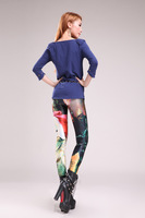 Free Shipping 2014 NEW  Women Girl Lord of the Rings Legging Skinny Pants Fashion
