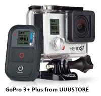 Original Official GoPro Black Edition HERO GoPro 3+ Plus Camcorder FPV Camera,WIFI Sports Camera Remote 1080p 60fps
