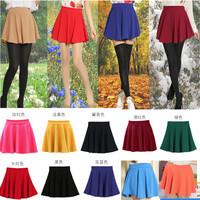 Spring new Korean high waist skirts pleated skirt bottoming sundress Puff skirt skirt hip bag large size women