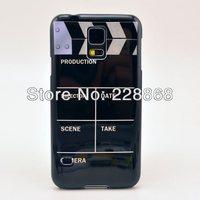 Film Clapperboard Clapper Board Plastic Cover Case for Samsung Galaxy S5 S V