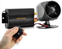 Hot GPS tracker TK103B shock sensor+Remote Control+full accessories tracking phone GPS Monitor Car alarm system Free shipping