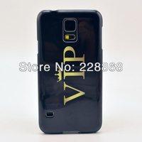 VIP Design Hard Plastic Cover Case for Samsung Galaxy S5 S V