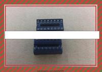 Free Shipping 16 Pin DIP SIP IC Sockets Adaptor Solder Type 100PCS