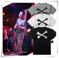 Free Shipping Summer Cotton Men's Short Sleeve T-shirt Bearing Bones After A Military Air Cylinder Sleeved T-shirt Men's Fashion