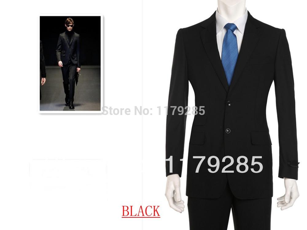 Spring 2014 fashion show Senior clothing brand men's wedding suits ...