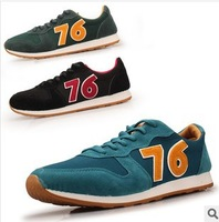 spring 2014 New men's shoe canvas shoes men casual flat Board Shoes breathable flats men sneakers creepers Forrest Gump shoes