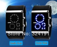 New Design Led  fashion electronic watch ,  waterproof  watch and flashlight