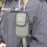 New arrival axeman mountaineering bag shoulder strap bag large screen mobile phone protection bag walkie talkie shoulder bag