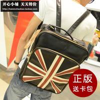 England flag school bag preppy style backpack