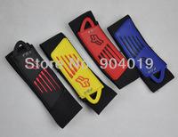 4 Pcs Bike Bicycle Reflective Velcro Leg Pants Band Straps