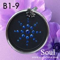 Fashion lava stone necklace energy pendants