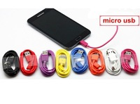 Micro USB 2.0 Cable For Samsung Galaxy Phones for HTC/LG/XIAOMI/LENOVO/BLACKBERRY Mobile