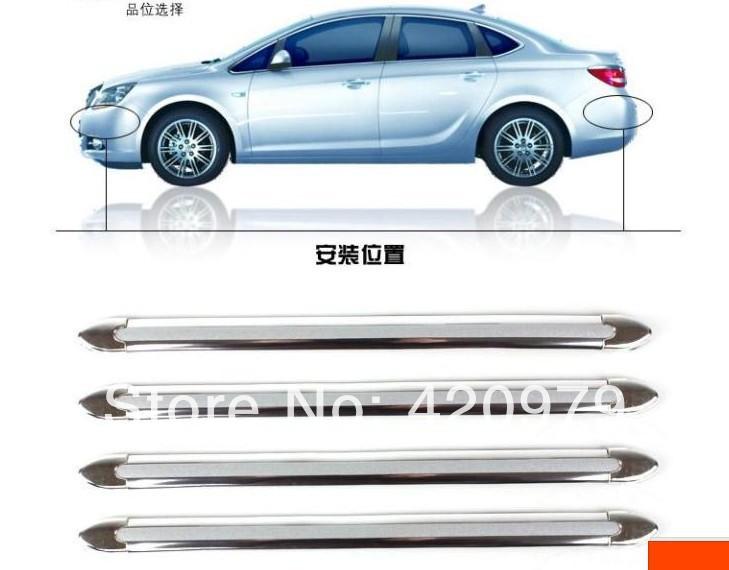 DIY Plastic Car Anti-collision bar,automobile bumper protector stripe as auto decoration sticker car protective product.(China (Mainland))