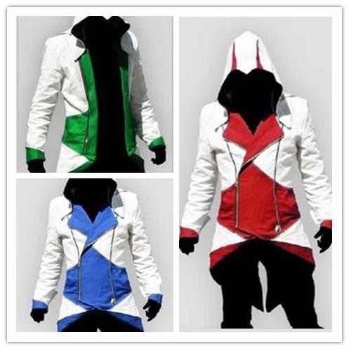 Аниме кигуруми убийцы убийцы 3 III коннер Kenway спорт косплей костюм с кап