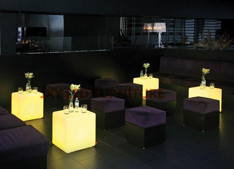 40*40*40cm, led cube, led cube chairs, led nightclub furniture(China (Mainland))