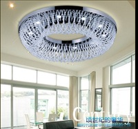 New LED Crystal ceiling light Luxurious Living Room Light Diameter 1M  Remote control section modern simple style