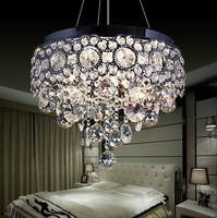Free shipping Modern design LED crystal Chandelier for Living Room luxury lustres de cristal para quarto D36*H28cm home lighting
