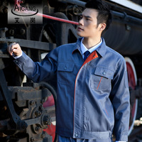 10sets-  work wear protective clothing tooling uniform customize g-113 long-sleeve workwear  facotry work clothes full sets